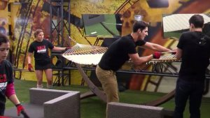The Big Brother Canada 3 house guests have 45 minutes to put everything away on episode 2