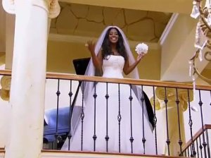 Kenya Moore at her Life Twirls on screening on RHOA  Season Finale