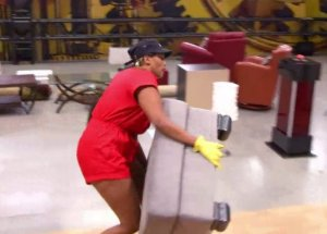 Brittnee Blair pulls out all the stops to try and win Veto on BBCAN3 episode 19