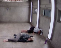 Brittnee Blair and Sarah Hanlon are locked in the Have Not Room on BBCAN3 episode 22