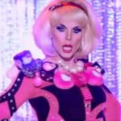 Katya's Hello Kitty couture is her last look on RuPaul's Drag Race season 7.