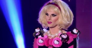 Katya sashays away from RuPaul's Drag Race season 7.