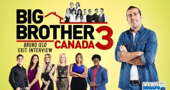 Big Brother Canada 3 Exit Interview with Bruno Ielo