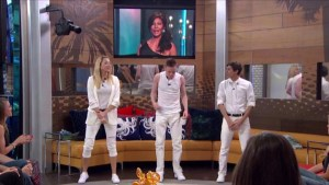 Liz, John and Jason perform live as the Wackstreet Boys. #BB17