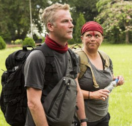 Brian Boyd and Cynthia Boyd are elminated on the Amazing Race Canada 3