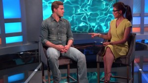 Evictee Clay Honeycutt is interviewed by Julie Chen #BB17