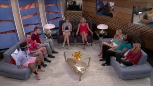 The houseguests learn about the second #DoubleEviction #BB17