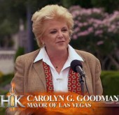 Vegas mayor Carolyn Goodman welcomes the cast to Las Vegas #HellsKitchen