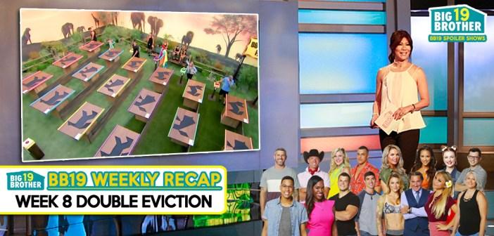 #BB19 WEEK 8 RECAP:  Double Eviction