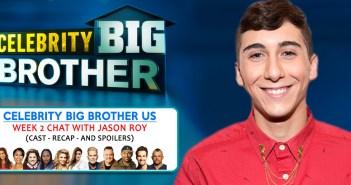 CELEBRITY BIG BROTHER USA: Jason Roy Week 2