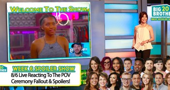 BB20 WEEK 6:  Post POV Ceremony Live!