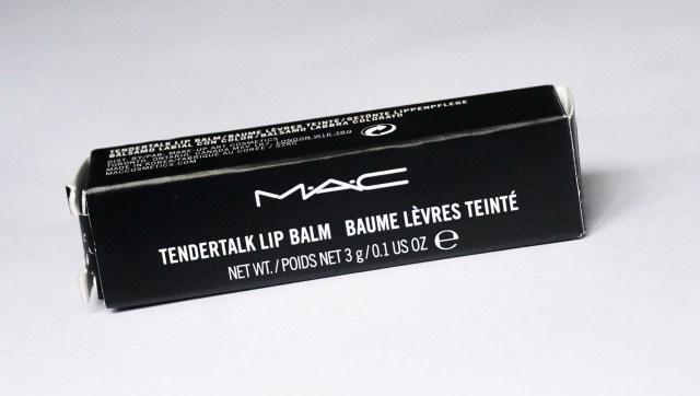 M.A.C Tendertalk Lip Balm Pretty Me Up