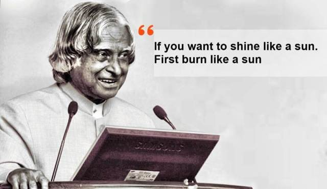 Abdul Kalam Thoughts Quotes