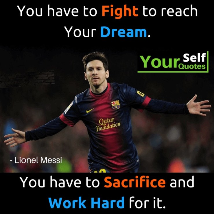 Lionel Messi Quotes Pictures