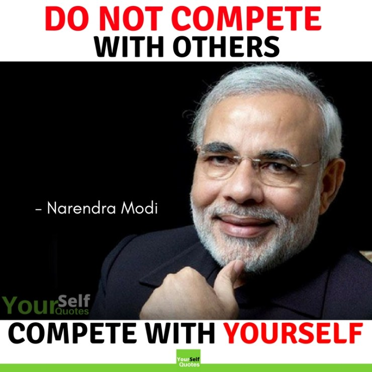 Be Yourself Quotes by Narendra Modi