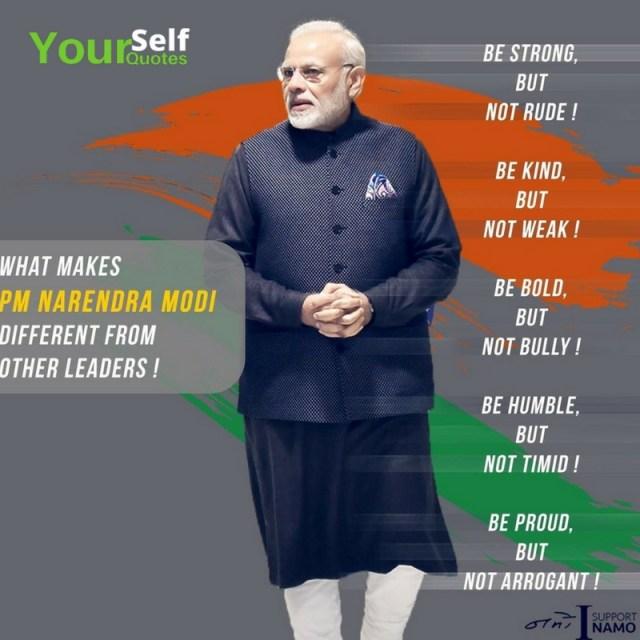 Quote of Narendra Modi
