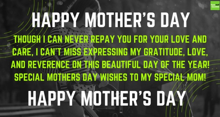 Special Mothers Day Wishes Images