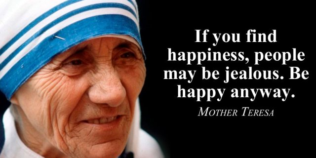 Mother Teresa Happiness Quotes