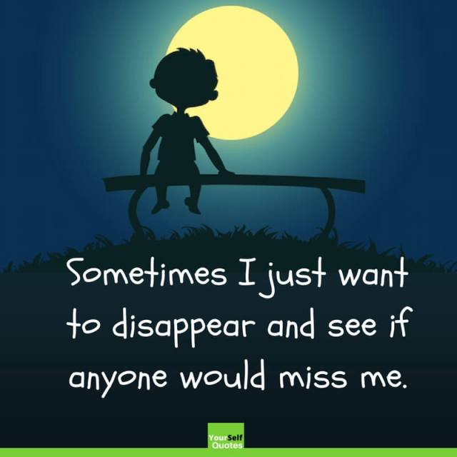 I Feel So Alone Quotes: Feeling Alone Quotes Status For Whatsapp & Facebook With