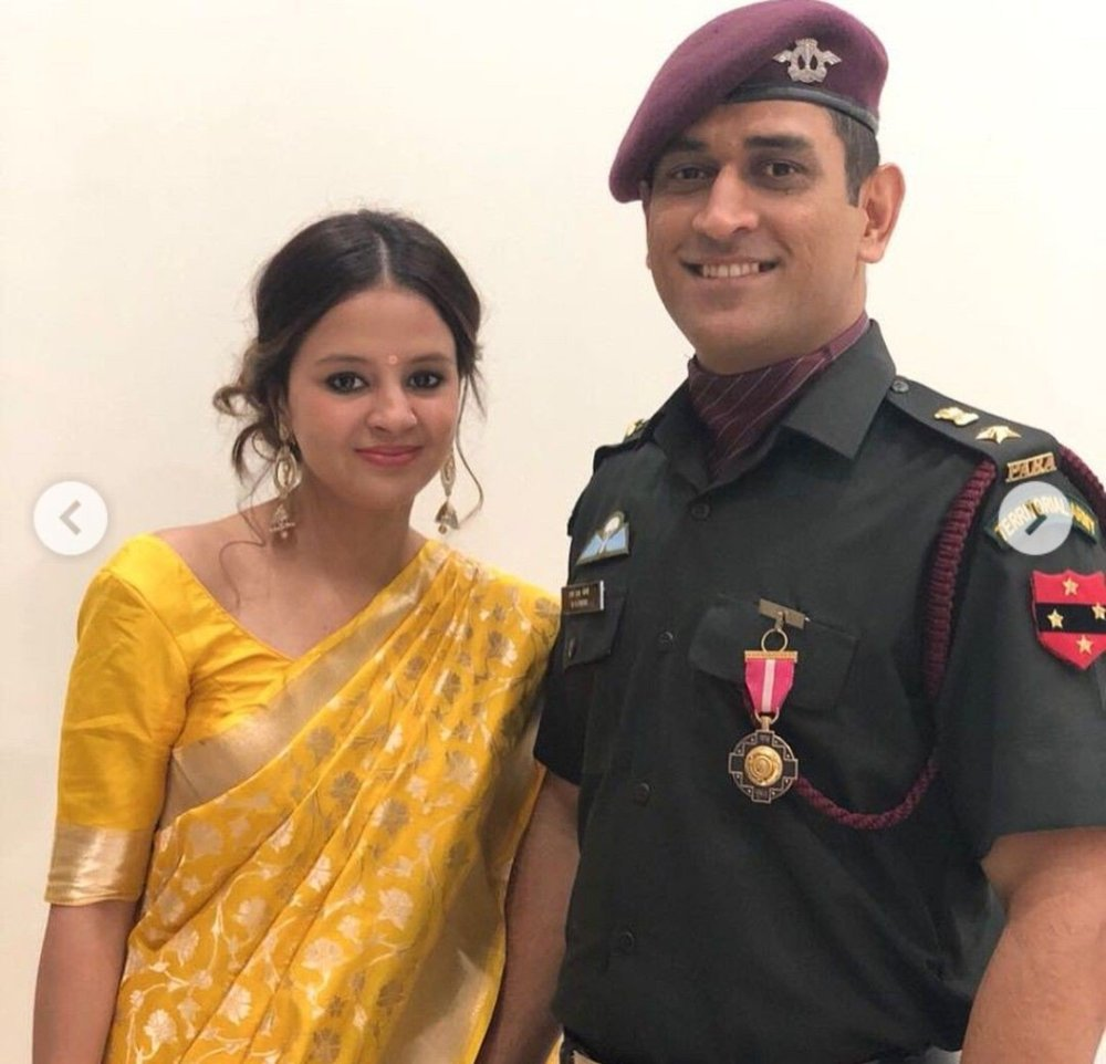 MS Dhoni Family Pictures