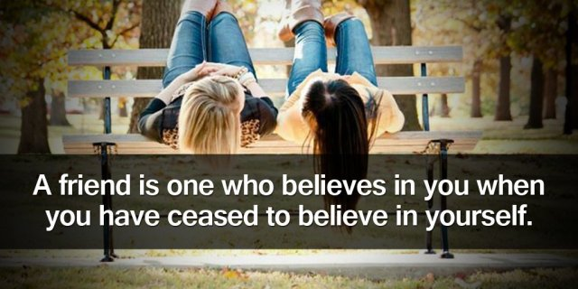 Quote of Believe in Yourself