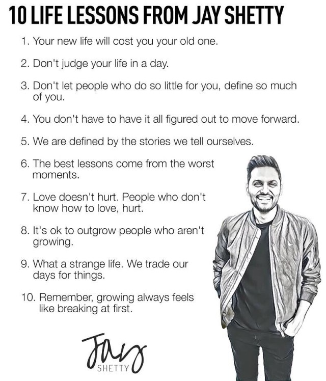 Life Lessons From Jay Shetty
