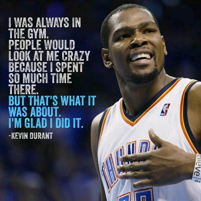 Athlete Quotes by Kevin Durant