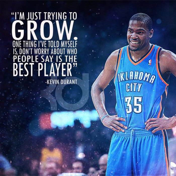 Athletes Quote by Kevin Durant