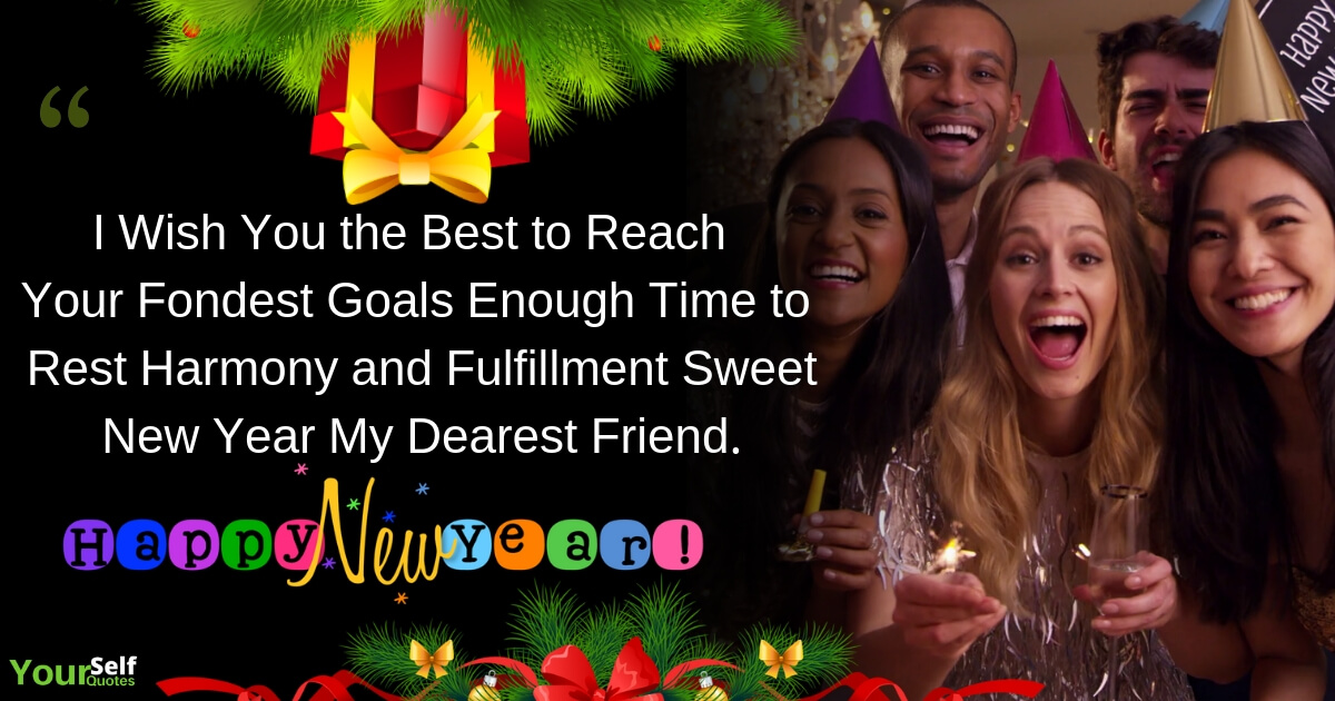 New Year Wishes Messagefor Friends