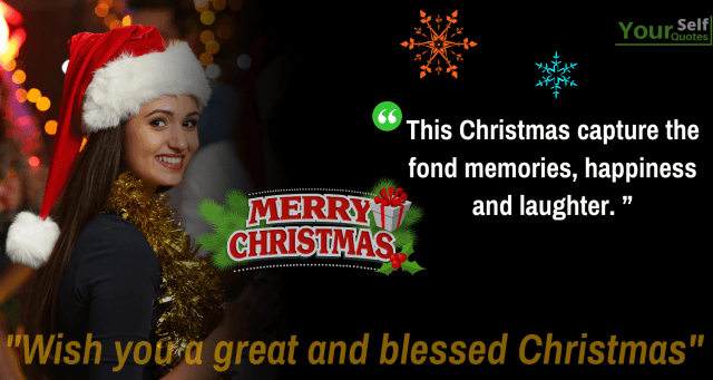 Blessed Christmas Wishes - Best Merry Christmas Wishes for Loved Ones To All from Heart *{Xmas Day}*