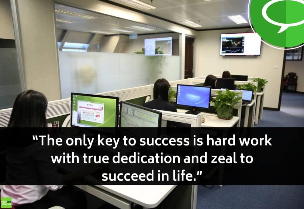 Hardwork Sayings