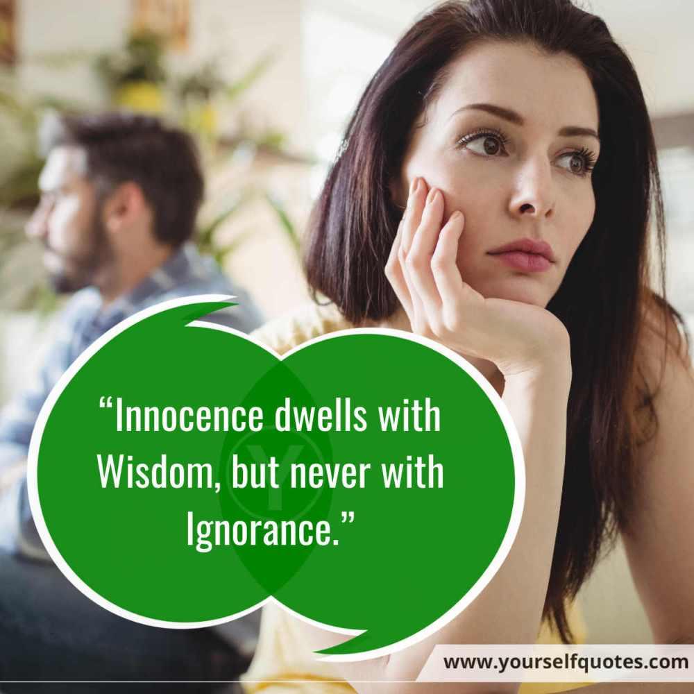 Ignorance Quotes Images