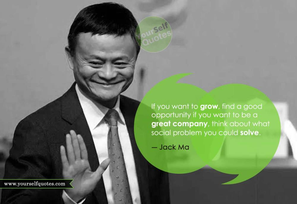 Jack Ma Quotes About Life