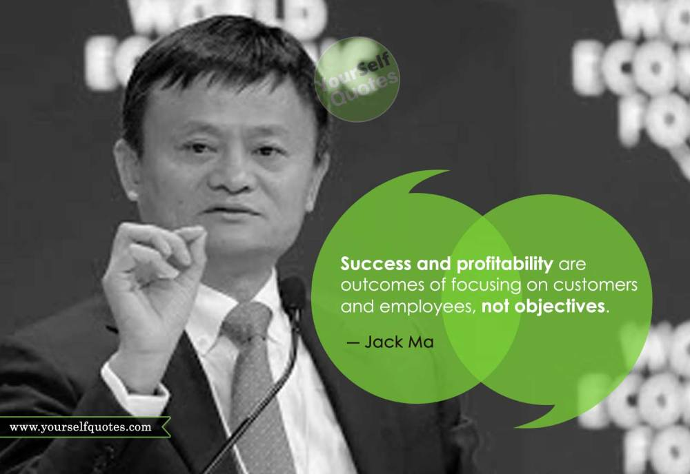 Jack Ma Success Quotes Images