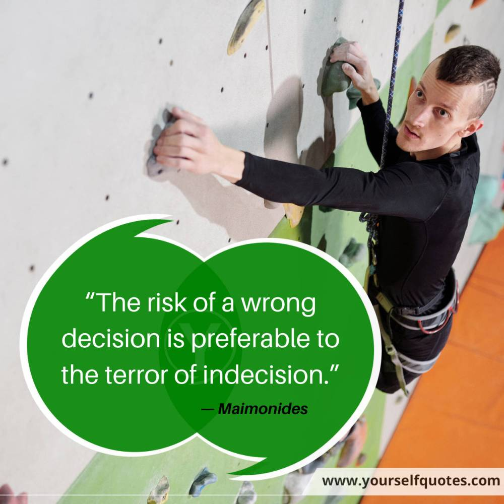 Risk Quotes by Maimonides