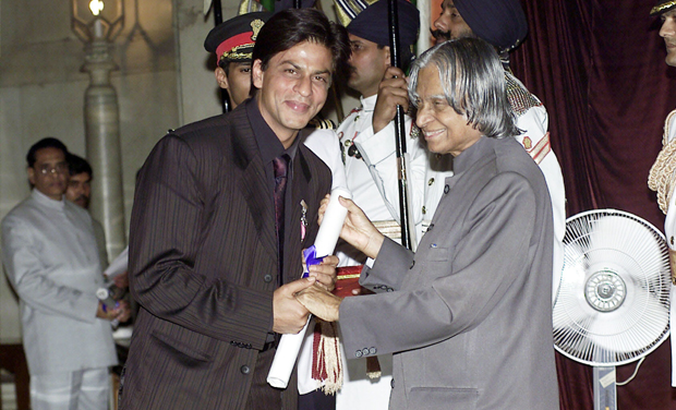 Shahrukh Khan Padma Shri