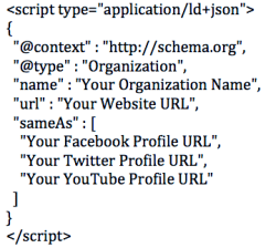 sample json schema