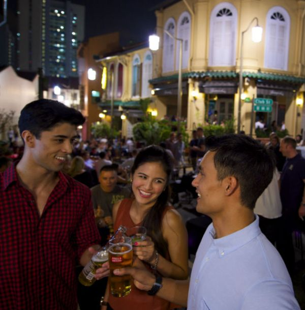 Bars in Club Street and Ann Siang Hill - YourSingapore