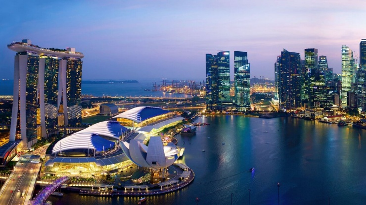 Marina Bay, Singapore is the centre of all things modern and super-stylish.