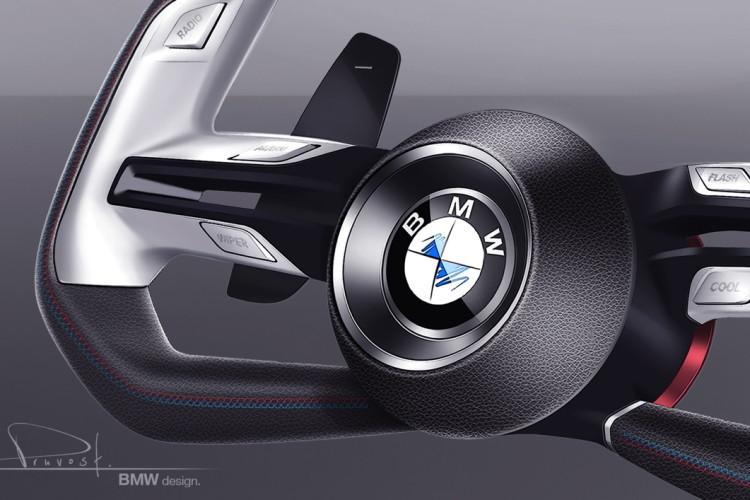 BMW Concept Car Pebble Beach 2015