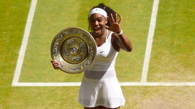 Serena Williams Gets Sixth Wimbledon Win
