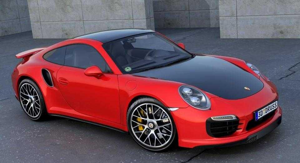 Spy Photos Reveal Redesigned 2016 Porsche 911 Turbo