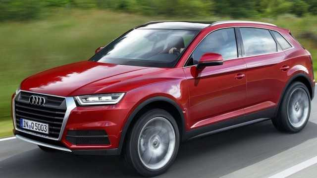 Audi Q5 2017 Edition Set to Beat Mercedes GLC Class, Test Drive Car Spotted