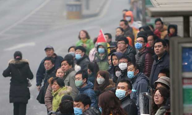 Toxic Air Pollution in China Taking its Toll, Killing People Daily
