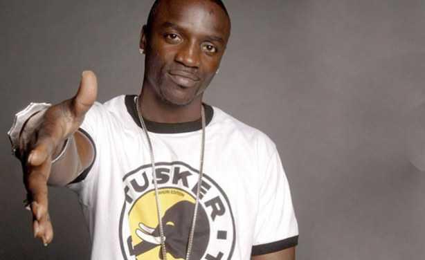 Rapper Akon