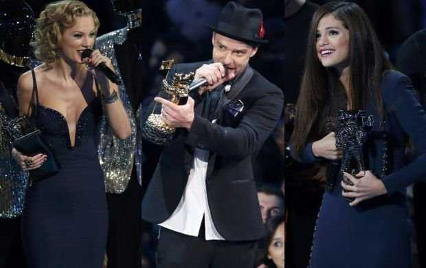 Taylor Swift Springs Selena Gomez and Justin Timberlake Surprise in 1989 World Tour Concert in LA