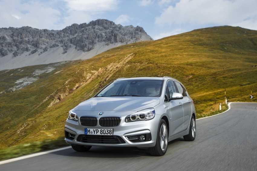 BMW 225xe Active Tourer is a Plug-in Hybrid Set for 2016 Launch