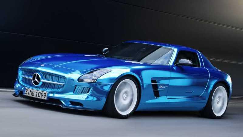 Mercedes Benz SLS AMG Electric Drive; (BR 197); Paris 2012