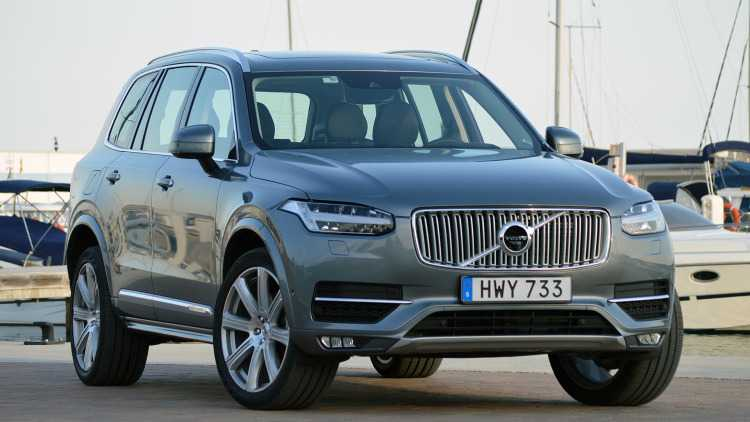 2016 Volvo XC90 Aced the IIHS Crash Test Earning Top Safety Pick