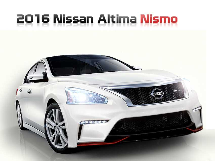 All New 2016 Nissan Altima Production Commences in Tennessee: Pricing Announced
